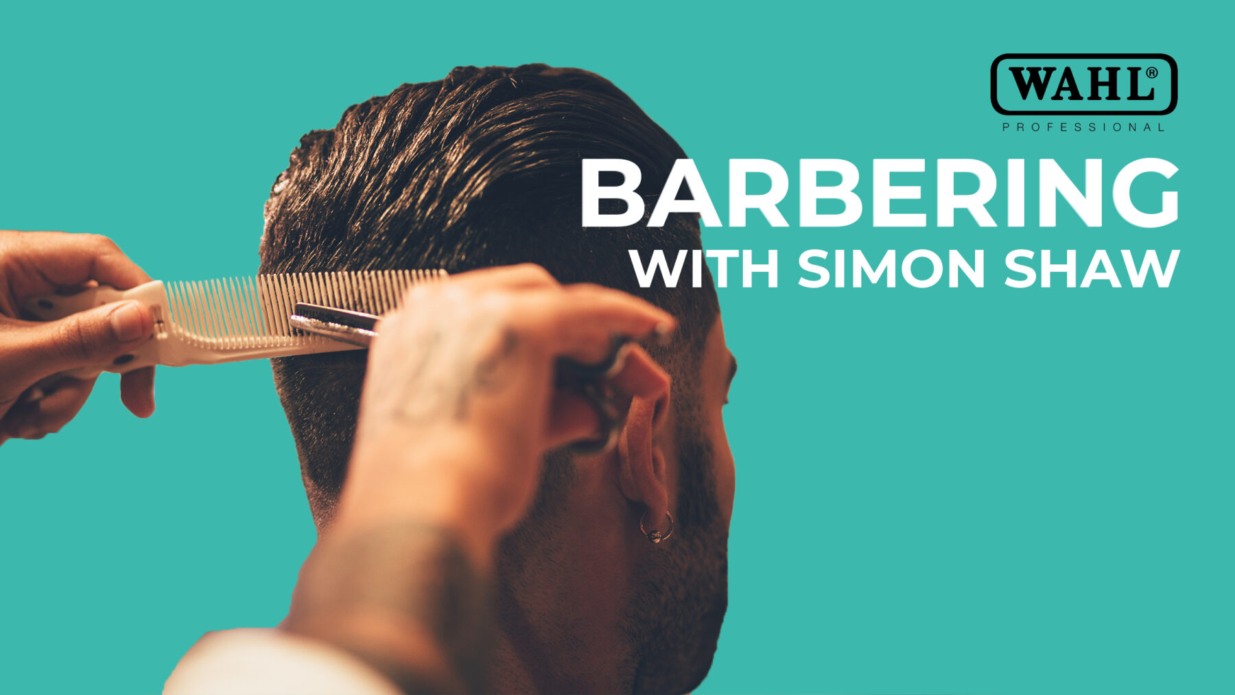 Barbering with Simon Shaw of Wahl