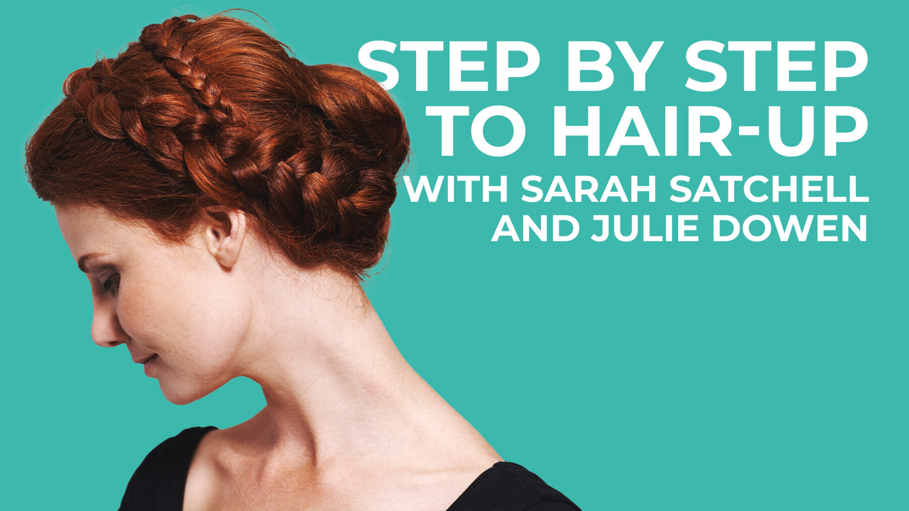 Step by Step to Hair-up