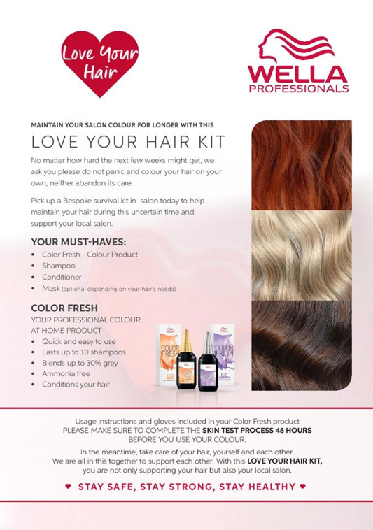 Wella - Love Your Hair Kit
