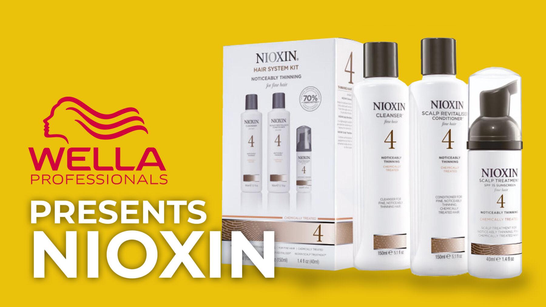Wella Presents Nioxin