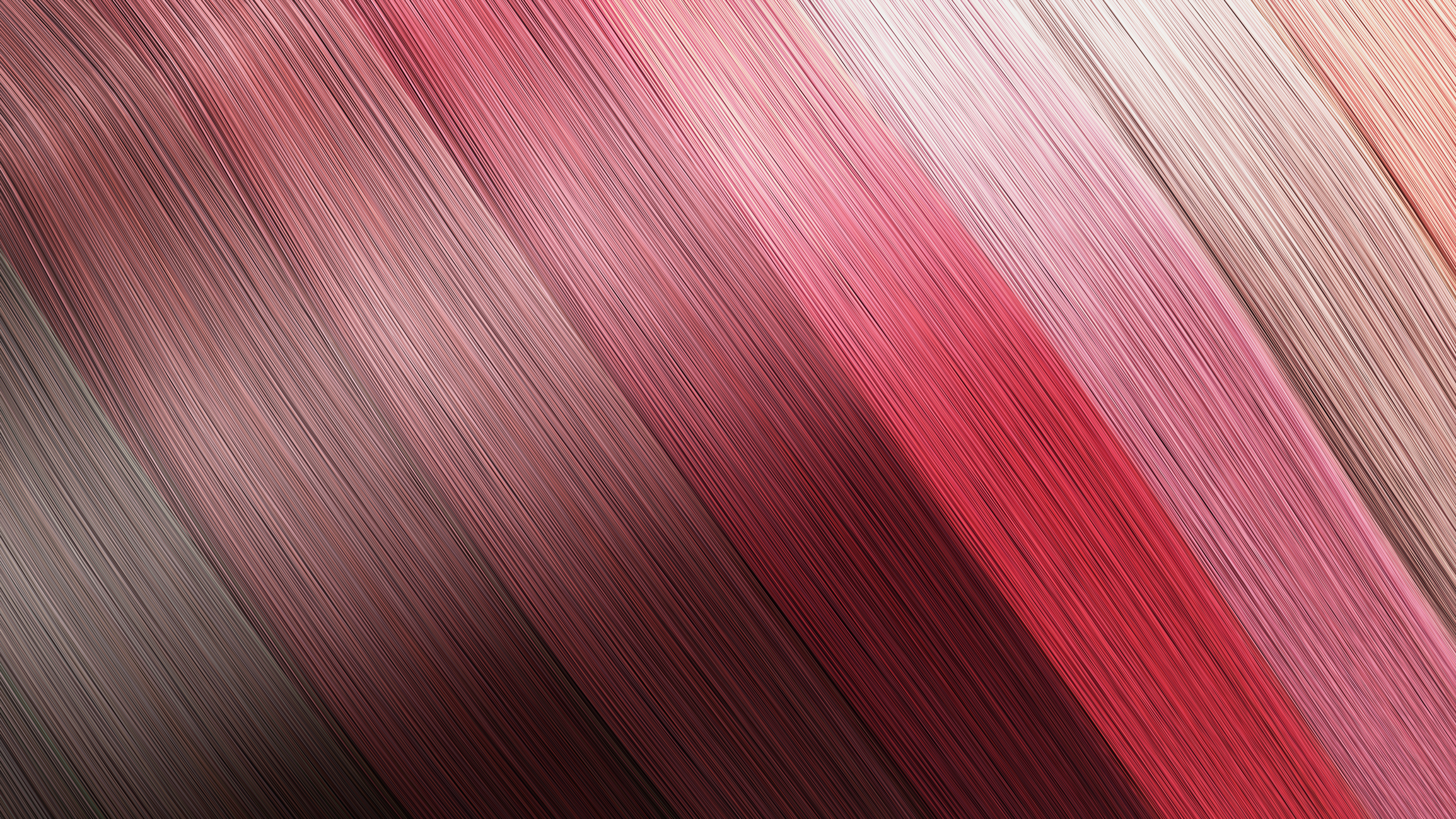 Example of different hair colors as background